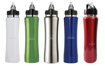 Water vitalizer bottle