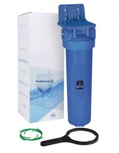 Main line waterfilter for the whole house
