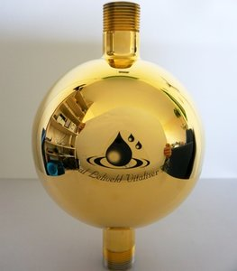 Aqua Mondiale - Golden Globe watervitalizer for spiritual centers