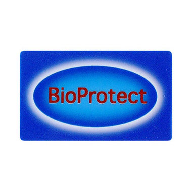 Bioprotect card for protection against radiation.